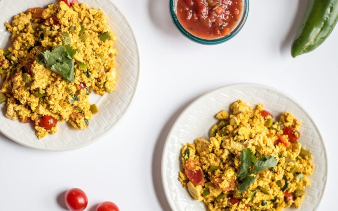Easy Mexican Tofu Scramble