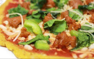 Farmers' Market Spaghetti Squash Pizza