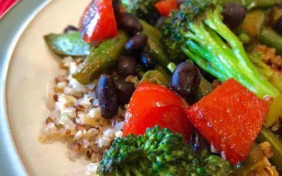 15-Minute Colorful Veggie Stir-Fry